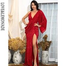 платье осень/зима LM81848, блестками,