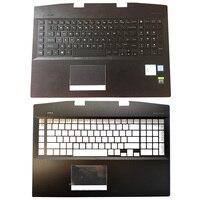 NEW Original Laptop Palmrest Upper Case US Backlit Keyboard For For HP OMEN 17 CB 17 cb0006ng AM2K0000310 AM2K0000320