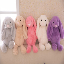 New Arrival Cute Soft Fluffy Rabbit Stuffed Plush Animal Bunny Toy Fashion Doll For Baby Girl Kid Gift Keychain