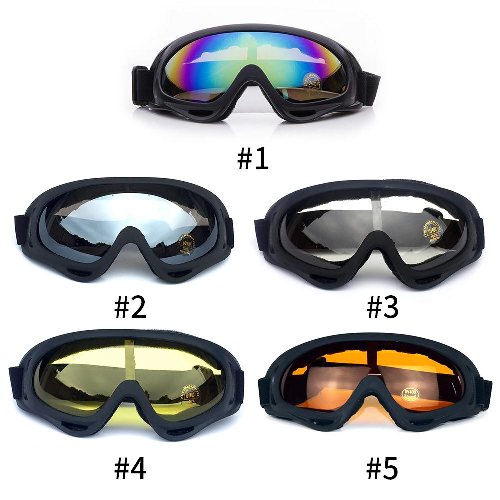 Protection Goggle Cycling Glasses Outdoor Sport Snowboard Windbreak Anti Fog Ski Dust-proof Glasses Safety Goggles