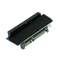OULLX SATA IDE Adapter 40 Pin IDE to SATA Connector 3.5 HDD IDE/PATA Hard Disk Adapter Converter With 7Pin-SATA Data Cable