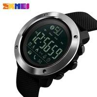 Skmei Bluetooth Smart Mens Orologi Sport Calorie Orologio Digitale Outdoor Pedometro LED Chiamata di Promemoria Orologio Da Polso Impermeabile Zegarki