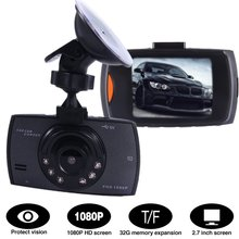 Camera Video-Recorder Dash-Cam Lcd-Screen G-Sensor-Function 1080P Car Tachograph DVR