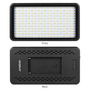 Image 3 - Hot 3C Ultra thin 3200K/6000K Dimmable Studio Video Photography LED Light Panel Lamp 228pcs Beads for Canon Nikon DSLR Camera DV