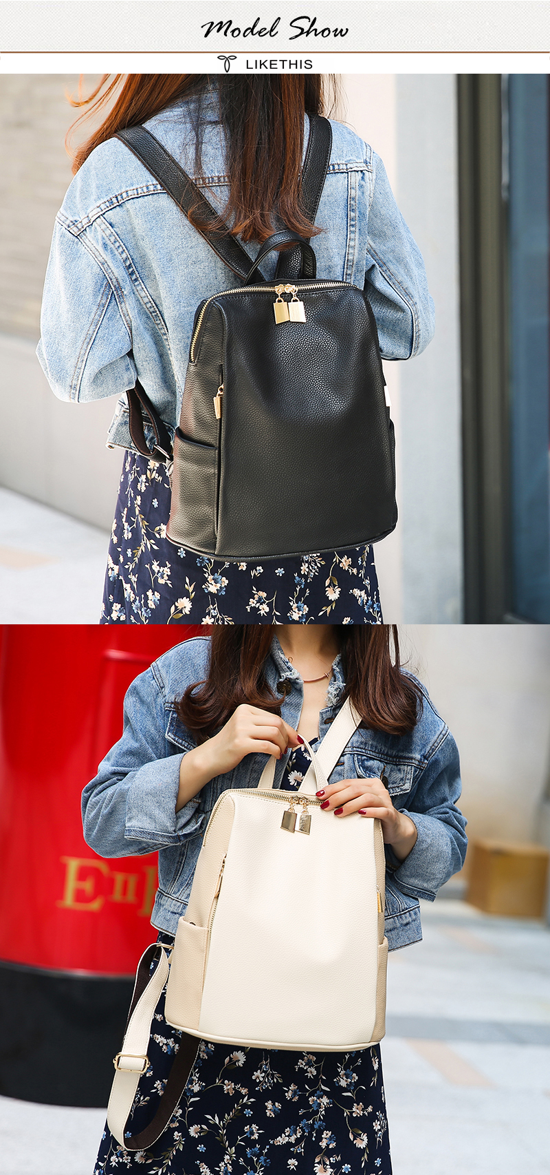 H0cb191da67094cc788d074c33f8574d3L Women Backpack for School Style Leather Bag For College Simple Design Women Casual Daypacks mochila Female Famous Brands168-325