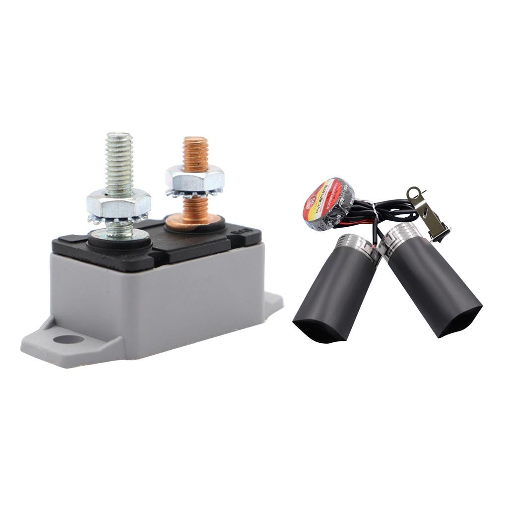 20A Circuit Breaker Fuse Stud Bolt Automatic Auto Reset + Motorbike Motorcycle Heated Grips Handlebar Throttle Pads|Handlebar|   - title=