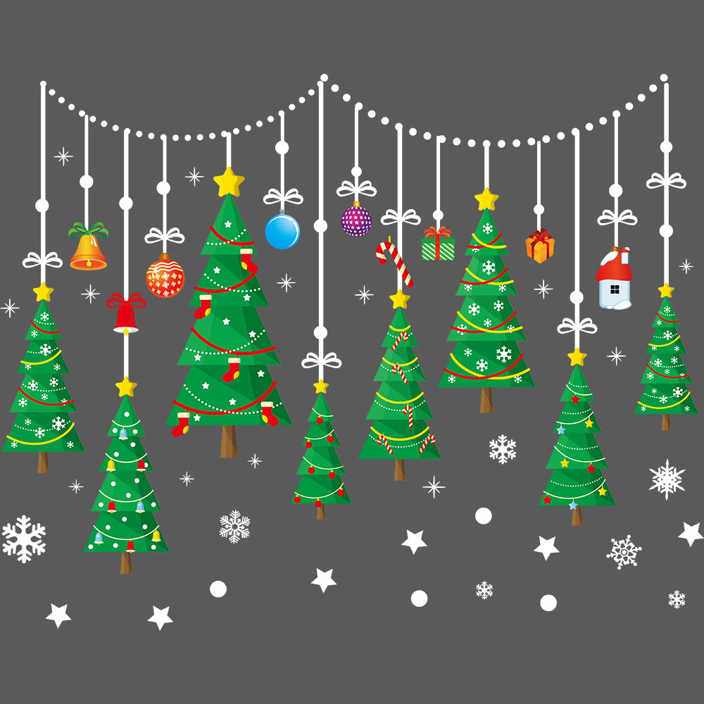 Cute Cartoon Christmas Tree Wallpaper You just need a pen and a paper to start drawing a christmas draw another, bigger similar layer below this one, to continue and make the tree's middle. cute cartoon christmas tree wallpaper