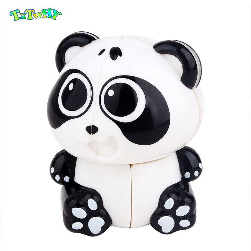 Yuxin Panda 2x2 Keychain Magic Cube Early Educational Toy Gift Idea  Shipping New Toys For Kids Children New Cube 2019