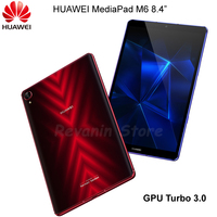 Huawei Mediapad M6 8.4 Tablet 6GB RAM 128GB ROM 4G LTE Phone Call Kirin 980 Octa Core Android 9.0 Game Turbo 3.0 6100mAh Tablet