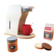1 Set Children's Toy Coffee Machine Afternoon Tea Early Education Simulation Toys Playing with Toys for Kids(China)