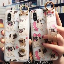 Wrist Strap Phone Case For Xiaomi Redmi