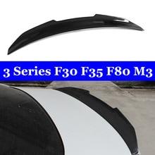 F30 F80 M3 Carbon Spoilers For BMW 3 Series f30 f35 f80 m3 320i 328i 335i 326D 2012+ Dropshipping for bmw f30 f80 m3 spoiler carbon fiber material m performance style 2012 up 320i 328i 335i 326d f30 carbon fiber