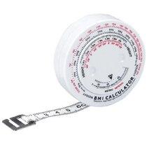 1 шт. 150 см BMI Индекс Массы Тела выдвижная лента для диеты потеря веса рулетка и калькулятор держать вашу красоту тела линейка