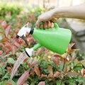 Небольшой полив чайник спрей пластиковый комнатный завод вода может прочный Садовый цветок полив разбрызгиватель садовый инструмент YHJ101706