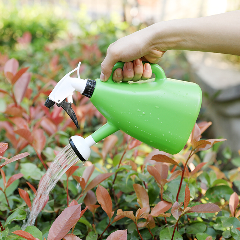 Small Watering Kettle Spray Plastic Indoor Plant Water Can Durable Gardening Flower  Watering Sprinkler Garden Tool YHJ101706