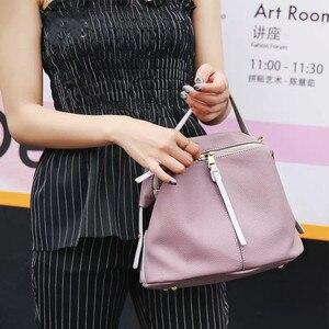 Image 2 - Vento Marea bolsos cruzados para mujer, de diseñador de lujo, bolso de hombro femenino de marca, monederos Retro Hobo de cuero suave, 2019