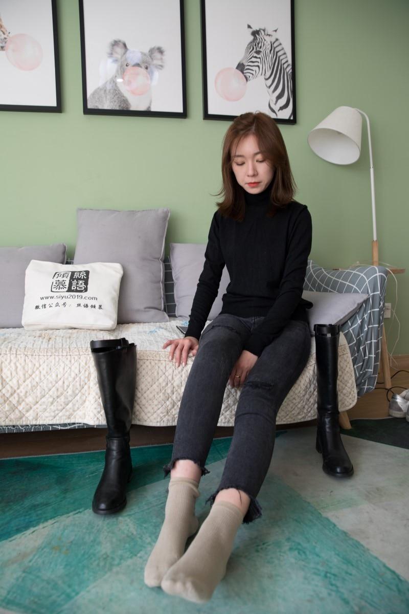 物恋传媒 No.335 婷婷-流年(长靴、棉袜、裸足)[179P/1V/4.29G]插图(2)