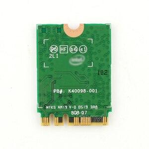 Image 3 - Desktop pci e 1x conversor sem fio com 2400mbps placa de rede para intel ax200 bluetooth 5.0 para janela 10 portátil