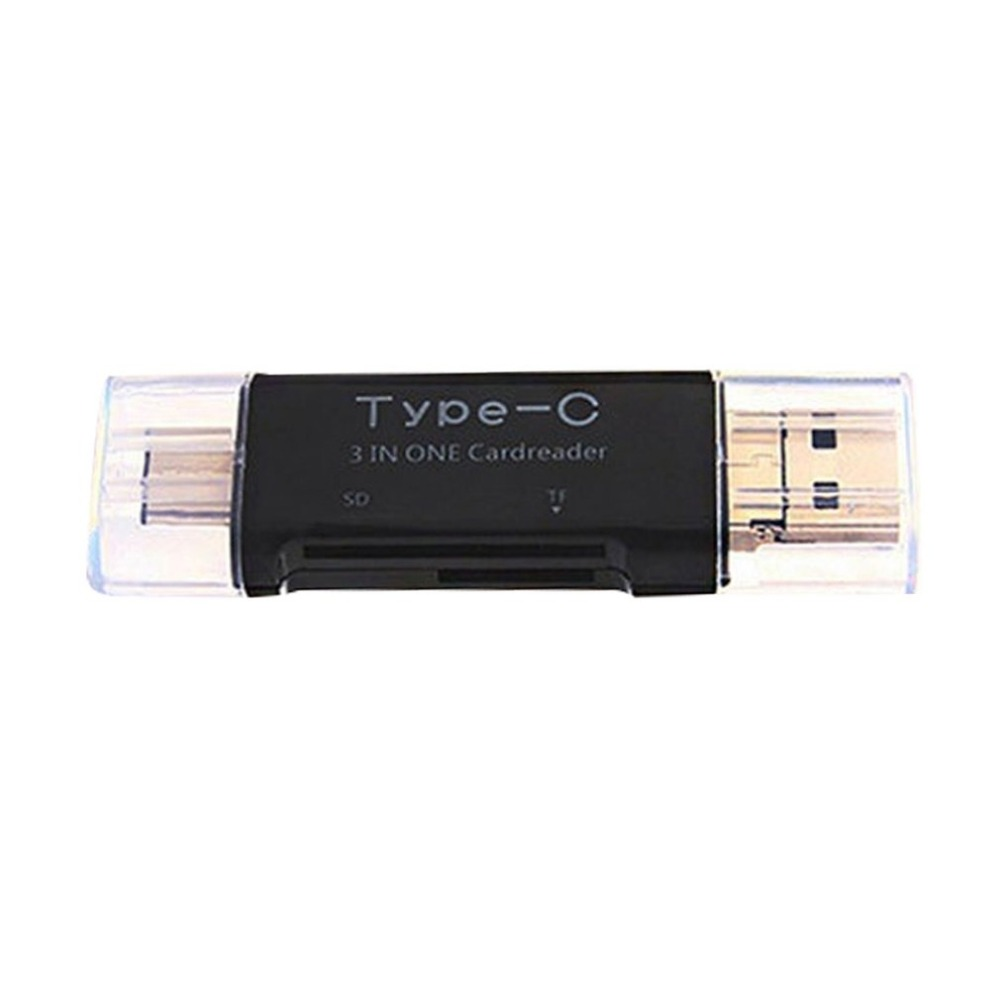 Multifunctional Universal OTG Type-C Card Reader USB 3.0 USB A Micro USB Combo To 2 Slot TF SD Card Reader For Laptop PC