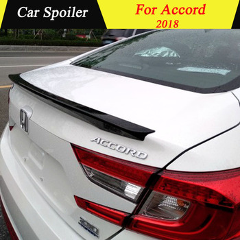 For Honda Accord 2018 10Th Rear Spoiler High Quality ABS Material Primer Color Car Tail Wing Decoration Trunk Spoiler