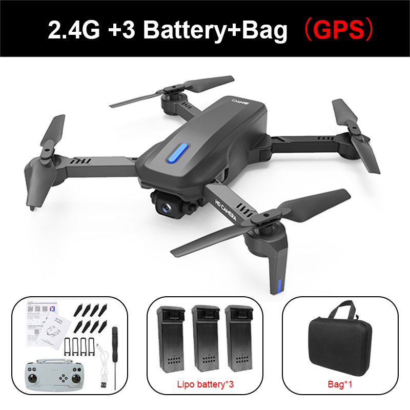 RC Drone H14 GPS 4k HD Dual Camera 2.4G/5G WIFI FPV 75 Degree Electric Adjustment Headless Mode Foldable Quadcopter Helicopter