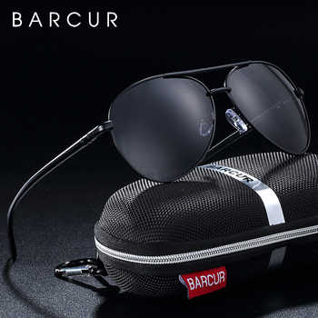 BARCUR Eyewear Accessories Men Sunglasses Male Hot Male Sun Glasses Polarized Sunglasses for Men Glasses - DISCOUNT ITEM  49% OFF All Category