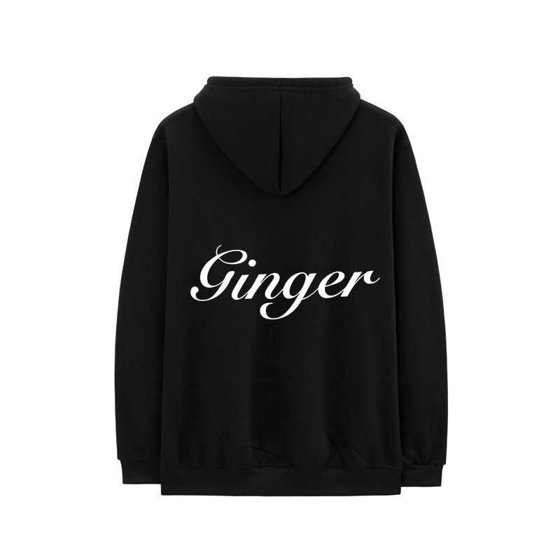 BROCKHAMPTON Hoodies If You Pray Right Hooded Sweatshirts Men Women Fleece GINGER Letter Print Short Sleeves Hip Hop Hoody