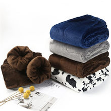 Fdfklak – pantalon de nuit chaud en flanelle épaisse, Pyjama de maison, culotte de sommeil, pantalon d'hiver à carreaux, nouvelle collection 2020