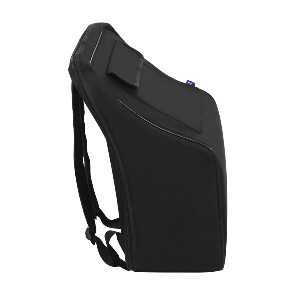 Accordion Bag Black Plus Cotton Oxford Material Backpack Waterproof Protection