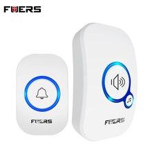 FUERS M557 Wireless Doorbell 433Mhz Home Welcome Smart Doorbell 150M Long Wireless Distance 32 Songs Home Welcome Door Chimes