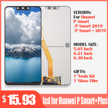 Original lcd für Huawei P Smart + Plus 2019 LCD Display + Touch Screen Digitizer Montage LCD Display P Smart 2019 bildschirm