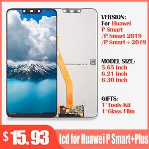 Image 1 - Originele lcd voor Huawei P Smart + Plus 2019 Lcd scherm + Touch Screen Digitizer Vergadering LCD Display P Smart 2019 Scherm