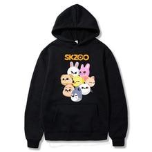Skzoo Stray Kids Hoodies Cute Kpop Cartoon Women Unisex kawaii Basic Streetwear Harajuku Casual Winter Sweatshirt Couple Clothes
