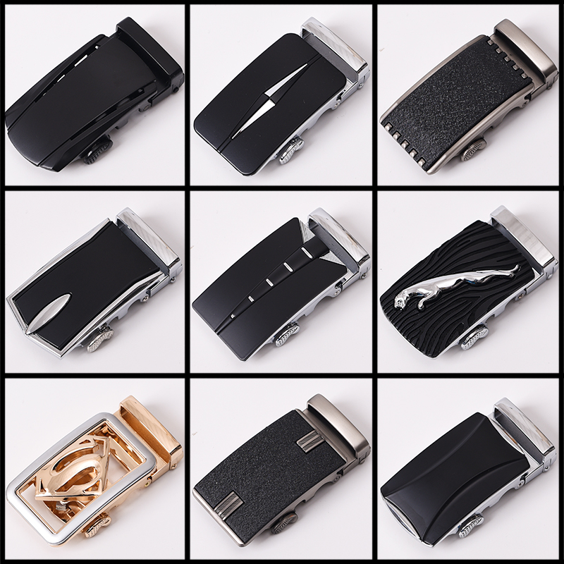 SUMEIKE Belt Buckle For Men High Quaility Luxury Brand Custom Logo Suit For Width 3.5cm