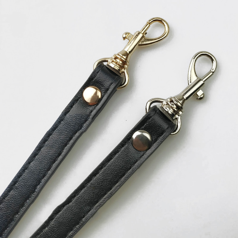 Fashion Women Detachable Bag Handle Bags Strap DIY Replacement PU Leather Shoulder Bag Parts Handbag Belts Strap Bag Accessories