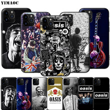 Étui pour iphone souple en Silicone YIMAOC Oasis Liam Noel Gallagher 11 Pro XS Max XR X 8 7 6 6S Plus 5 5S SE(China)