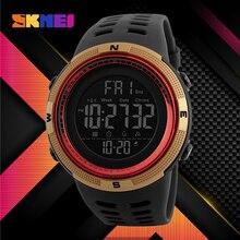 Zegarki SKMEI męskie 2021 zegarki sportowe moda odliczanie wodoodporne cyfrowe zegarki na rękę mężczyzna zegarek wojskowy Relogio Masculino