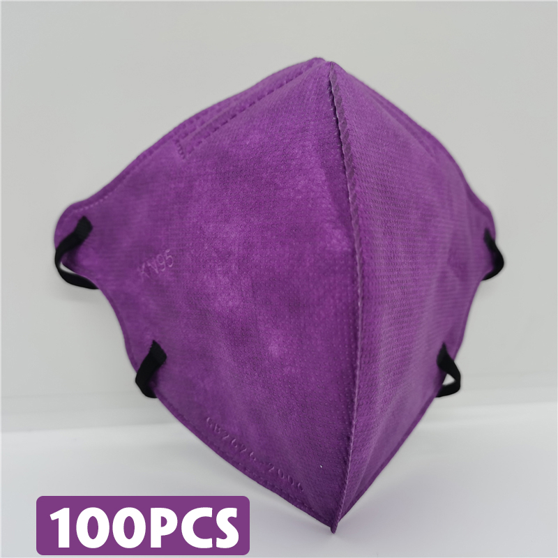 Purple 100pcs