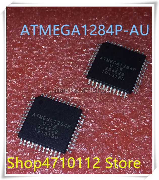 NEW 5PCS/LOT ATMEGA1284P-AU ATMEGA1284P AU ATMEGA1284 TQFP-64 IC