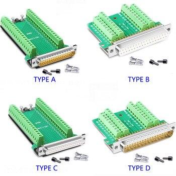 DB37 Vrouwelijke/Mannelijke Connector D-SUB 37 Pin Poort Terminal Breakout Connector Soldeer-Gratis Adapter Terminal Connectoren Voor Db kabel