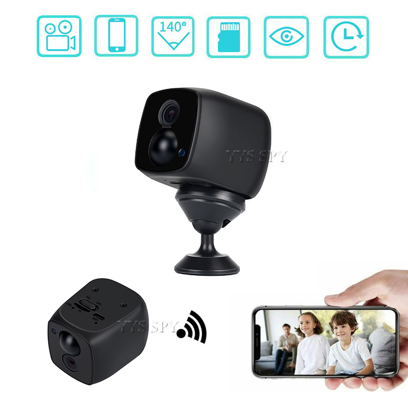 Wireless <font><b>Mini</b></font> Wifi <font><b>Camera</b></font> Security Small IP Camaras Home Surveilance IR Motion Webcam Gizli Kamera Action Micro Secret Camcorder image