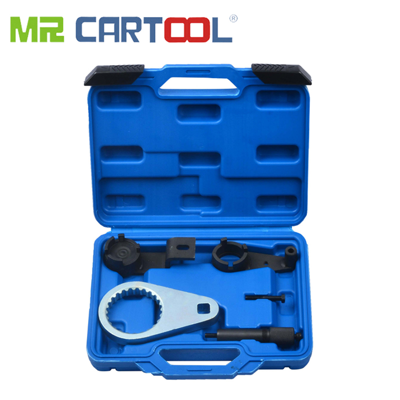 MR CARTOOL 5 Pcs Diesel Engine Distribution Tool Kit Set For Chrysler /Jeep Cherokee 2.8L CRD Car Repair Tool