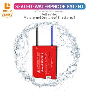 Image 2 - Daly 18650 BMS 4S 12V 15A 20A 30A 40A 50A 60A étanche BMS pour batterie Rechargeable Lifepo4 avec le même Port pour batterie au lithium