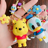 Disney children doll pendatn Mickey mouse Donald Duck keychain bag pendant small gift bag Keychain pendant Event souvenirs discount