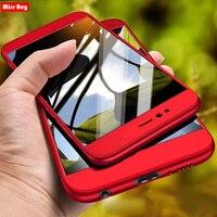 360 volle Abdeckung Für Huawei Y6 Prime 2018 ATU-L31 ATU L42 L31 P Smart Y5 Y6 Y7 2019 Y7 Pro 2020 stoßfest Fall Gehärtetes Glas