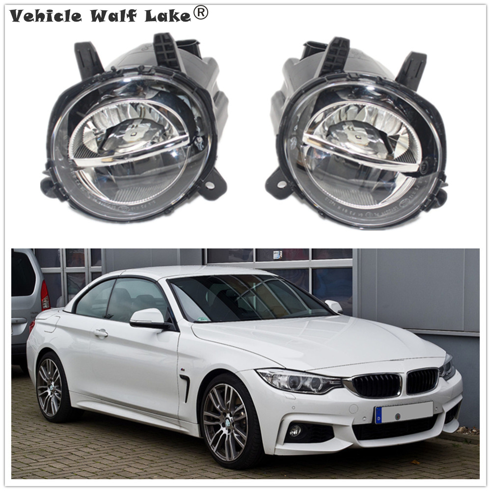 LED Light For BMW 4 Series F32 F33 F36 418i 420i 428i 430i 435i 440i 2013 2014 2015 2016 2017 Front LED DRL Fog Lamp Fog Light