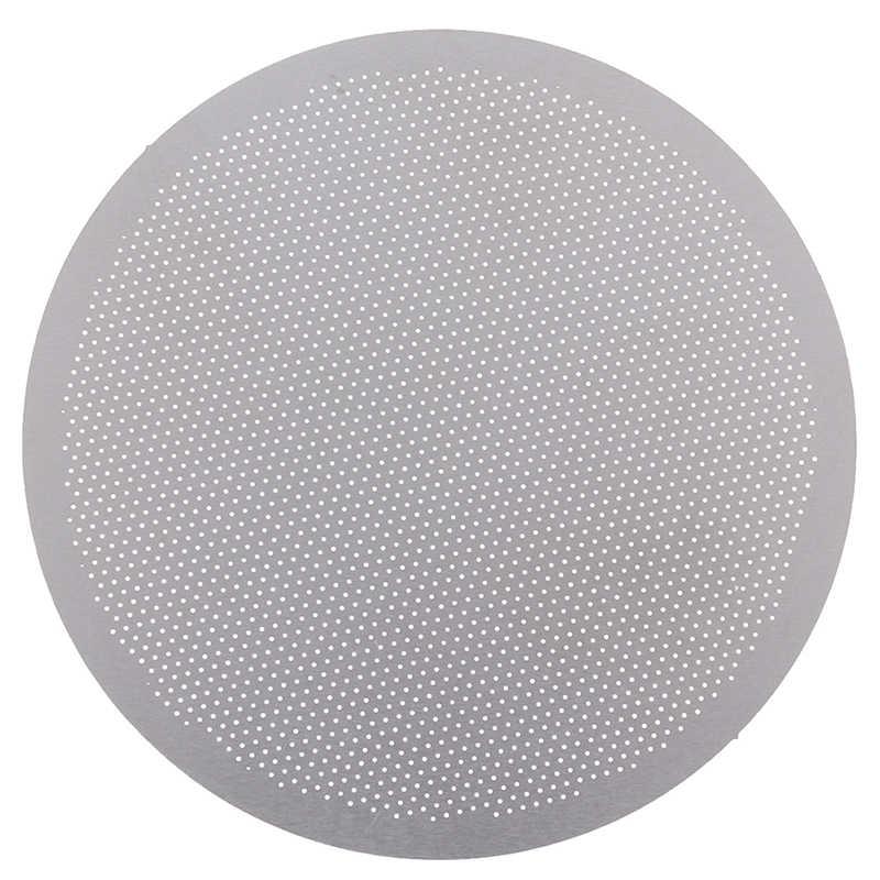 1PC Reusable Edelstahl Disc Metall Ultra Dünne Filter für Aeropress Kaffee Maker küche kaffee zubehör