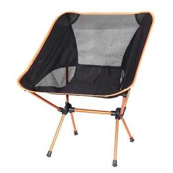 Travel Ultralight Folding Chair Superhard High Load Outdoor Camping Chair Portable Beach Hiking Picnic Seat Fishing Tools Chair 2