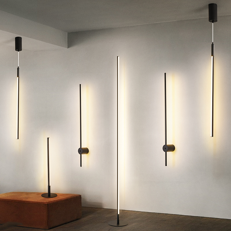 Modern LED Pendant Lights Simple Suspended Lighting Nordic Loft Dimming Home Pendant Lamp Bedroom Hanging Lamp Kitchen Lustre