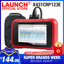 LAUNCH X431 CRP123E OBD2 Car Scanner OBD OBDII Engine ABS Airbag SRS Transmission diagnostic Tools Free update Online PK CRP123X